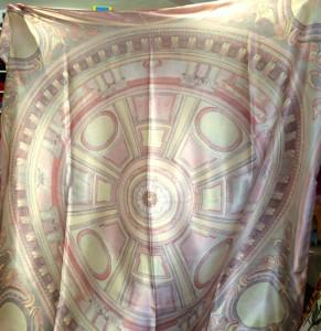 Pink Florentine Chapel scarf