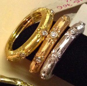 classic silk ring